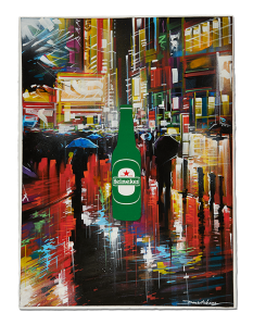 The one that was painted with liquid lights by Dan Kitchener